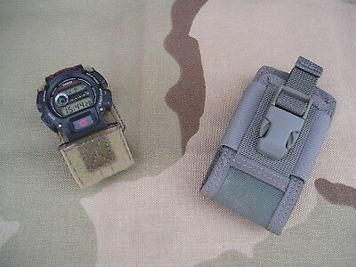Casio G-Shock Watch & Tactical Nylon Desert/coyote Watch Band&maxpedition Pouch