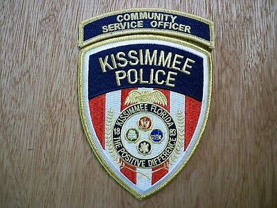 Florida - Kissimmee Police Patch CURRENT ISSUE COMMUNITY SERVICE OFFICER