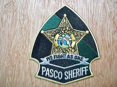 Florida - Pasco Sheriff Police Patch CURRENT ISSUE AS SEEN ON LIVE PD