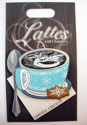 Disney Lattes With Character Olaf Frozen Pin Month LE 3000 Coffee Latte POTM NEW