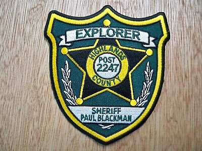 Florida - Highlands Sheriff Police Patch CURRENT ISSUE EXPLORER