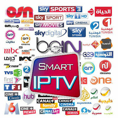 IPTV españa 1-12 meses Smart HD m3u Arabic Portugal Latino UK US Europa Premium