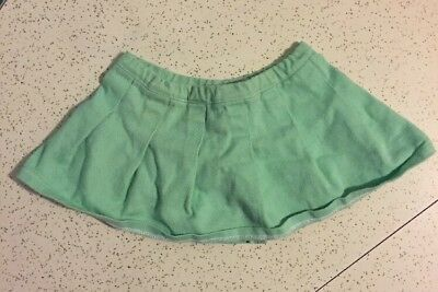 Vtg 1986 Clothes CRICKET Talking Doll MINT GREEN SKIRT [From Original Outfit]