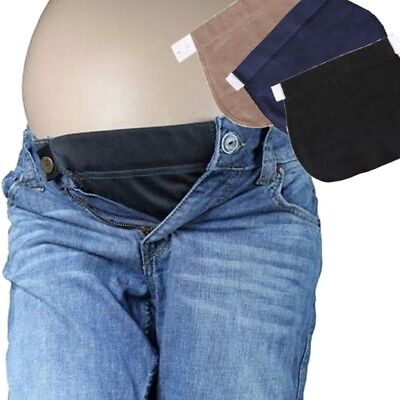 Pregnant Maternity Pants Belt Elsatic Waist Extending Button Comfortable Clothes