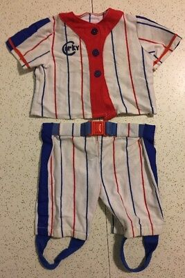 Vtg 1986 Clothes CORKY Talking Doll BASEBALL PLAYER OUTFIT [Cricket's Brother]