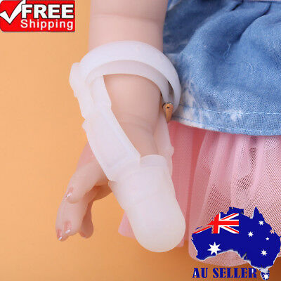 Stop Thumb Baby Kids Thumbsucking Sucking Finger Guard Protect Silicone Safe AU