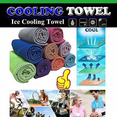 Sporthandtücher Outdoor Sports Towel Exercise Sweat Summer Ice Cold Cooling Tuch