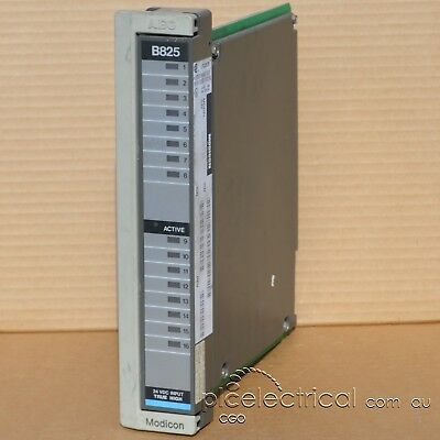 QTY Modicon AS-B825-016 True High Input Module. 24VDC. 16 Channel.