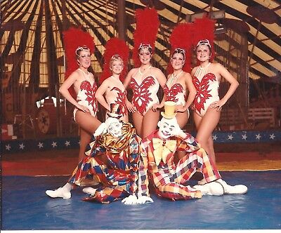 1985 - Clyde Beatty - Cole Bros Circus - Fred Logans Daughters