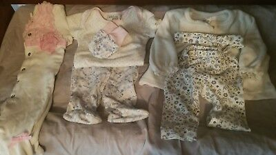 Baby girl 0-3 months LOT with Extras
