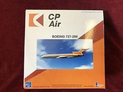 Inflight IF722001 CP Air Boeing 727-200 Express of SFO C-GCPA Diecast Jet Model