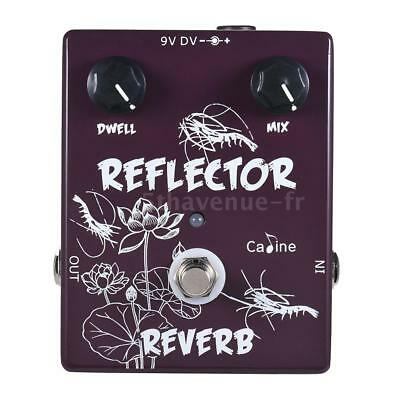 Caline CP-44 Reverb Guitar Effect Pedal Aluminum Alloy With True Bypass C9F7