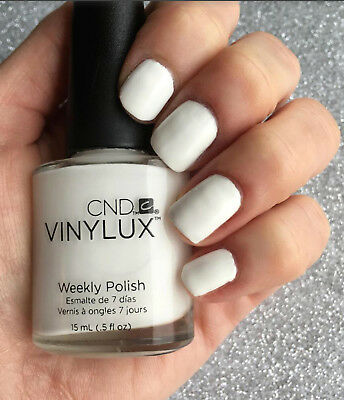 CND VINYLUX WEEKLY Nail Polish Lacquer - CREAM PUFF 0.5oz - $6.50 ...