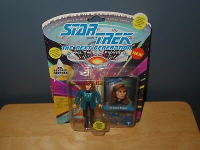 1993 Playmates Star Trek Next Generation Dr. Beverly Crusher Collectible Toy New