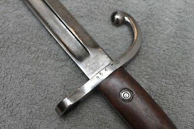 *RARE* Belgian Model 1889 Mauser Hopkins and Allen Bayonet