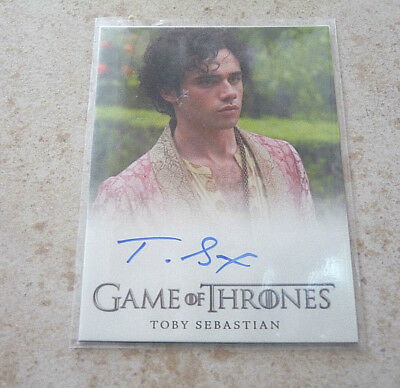 carte Game of Thrones Toby Sebastian TRYSTANE MARTELL limité série tv