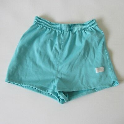 Vintage 80s Nike Women's Athletic Running Sports Gym Shorts Blue Tag VGC