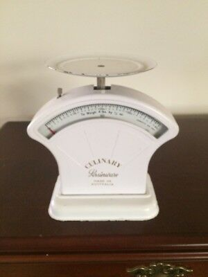 Vintage Culinary Persinware Kitchen Scale - (mail option also available)