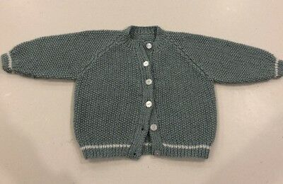 Hand Knitted Cardigan Size 12 Months