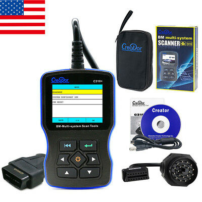 Creator C310+ Airbag/ABS/SRS Diagnostic Tool BMW Code Reader Engine Oil Reset