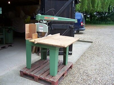 Maggi Junior 640 Ce Radial Arm Saw/cross Cut Saw With Universal Head