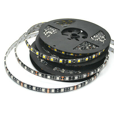 5050 LED Strip Black PCB DC12V Flexible LED Light 60LED/m RGB/White/WW Red Green