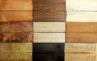 Bulk Buy - Variety Pack Wood Knife Scales (2nd's) - Lot 11