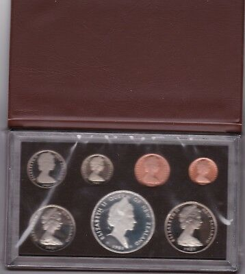 1981 New Zealand Coin Proof Set