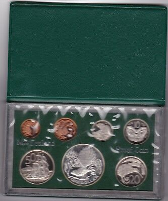 1980 New Zealand Coin Proof Set