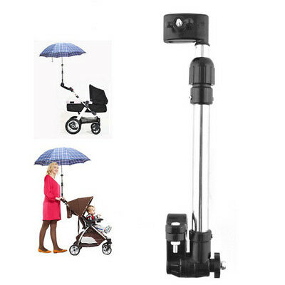 Adjustable Umbrella Holder Mount Stand For Bicycle Wheelchair Stroller Chair