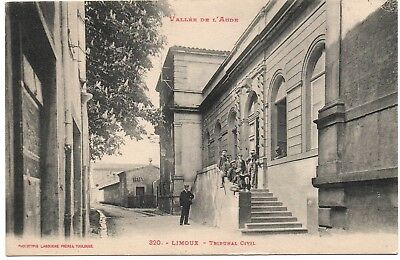CPA 11 AUDE  - LIMOUX - tribunal civil , animée