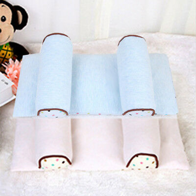 Baby Pillow Infant Newborn Anti Flat Head Syndrome for Crib Cot Bed Soft Cotton