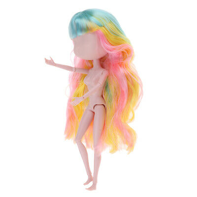 Ball Jointed Doll Head Body Parts for 1/6 XINYI BJD Doll Custom Mixed Colors