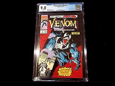 Venom: Lethal Protector #2 - CGC 9.8  1st Venom In Own Title! Highest Graded!