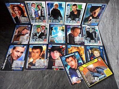 Dr Who Timelord Trading Card Bundle Paul McGann, David Tennant, Tom Baker
