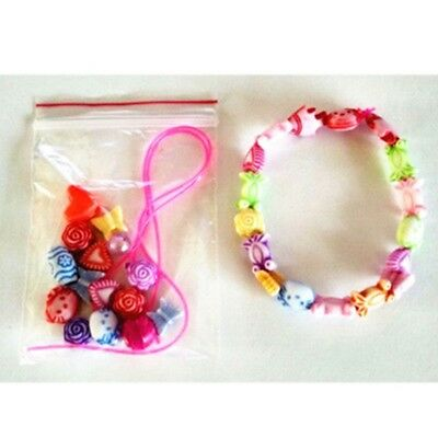 New DIY Jewelry Chain Bracelet String Beads Toy Novelty Gift Doll Accessories