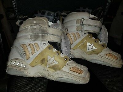 TRS Alpha rollerblade size 8 + vicious liners soulplates + midsouls boot only