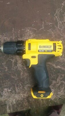 DeWalt 10.8v DCF815 DRILL WITH CHUCK
