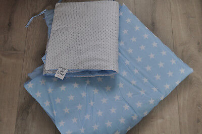 New Clair De Lune baby duvet and cot bumper.