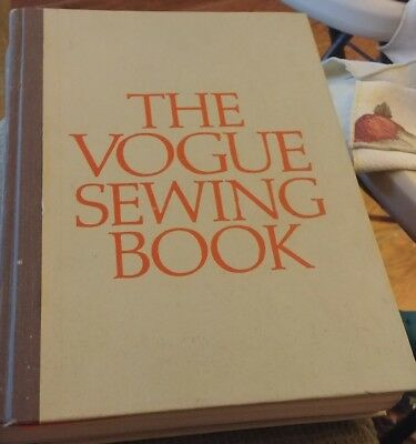 The Vogue Sewing Book-1970 First Edition, Butterick, Patracia Perry
