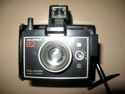 Vintage Polaroid Colorpack 82 Camera - Untested -Clean And Vg Condition