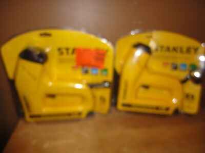 Stanley TRE550Z Electric Staple/Brad Nail Gun Lot Of (2)