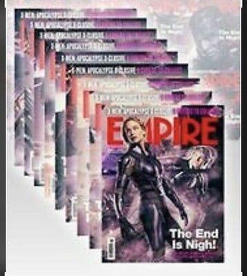 Empire Magazine MAY 2016 X-Men: Apocalypse X9 COVER BOXSET + POSTER (BRAND NEW)