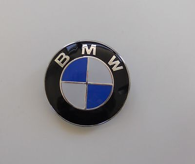 Replacement hood emblem for BMW logo badge roundel 82mm 2pin FAST SHIP IN CANADA