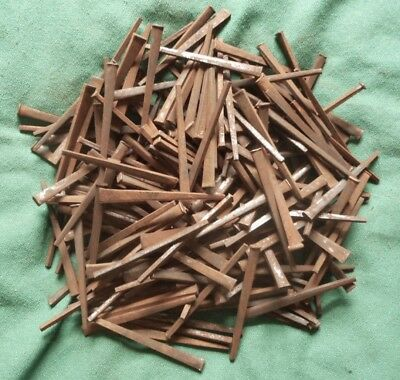 """Vintage Nails Square Cut Nails 2 1/2"""" Lot Of 2 1/2 Lbs."""