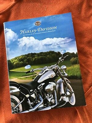 Harley-Davidson 2003 New Motor Accessories & Parts Catalog + Spring Supplement