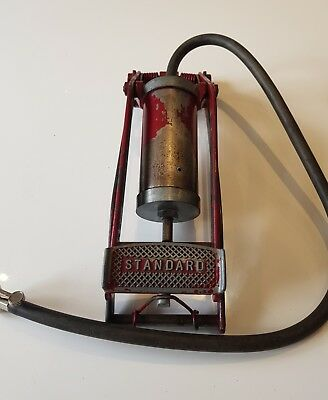 Vintage Standard  Car / Automobile Foot Pump, Fully Working Classic Car