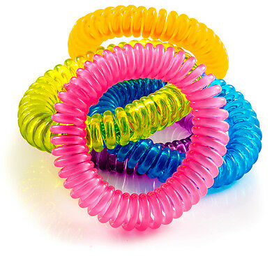 Mosquito Repellent Bracelets - 10 Pack - All Natural, Deet Free and Waterproof