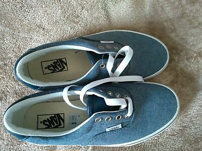 a256946495 Boys VANS Skater Shoes Trainers Blue Size UK 3.5 US 4.5 euro 36 never been  worn