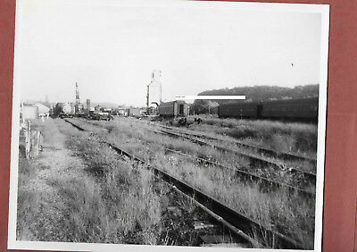 Pennsylvania RR PRR Photo Rail Yard Northumberland PA NORRY??? B&W 8X10